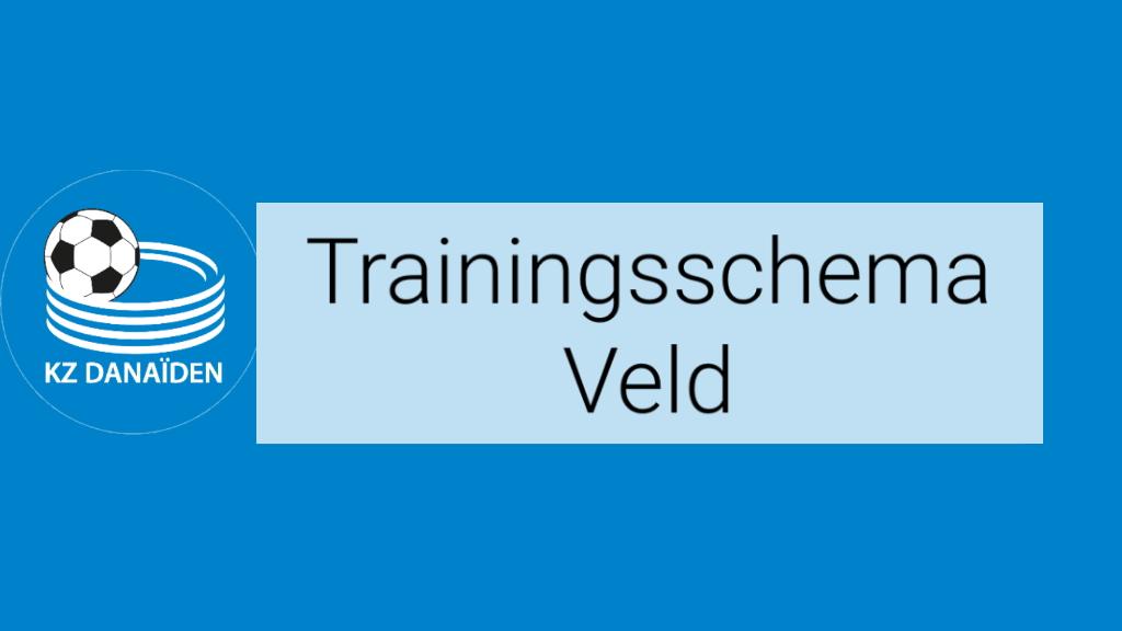 Trainingsschema Veld