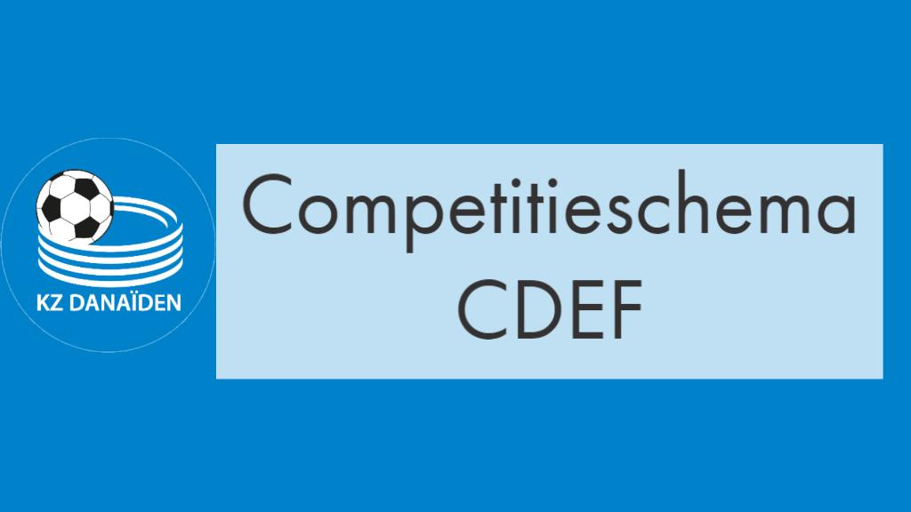 competitieschema CDEF